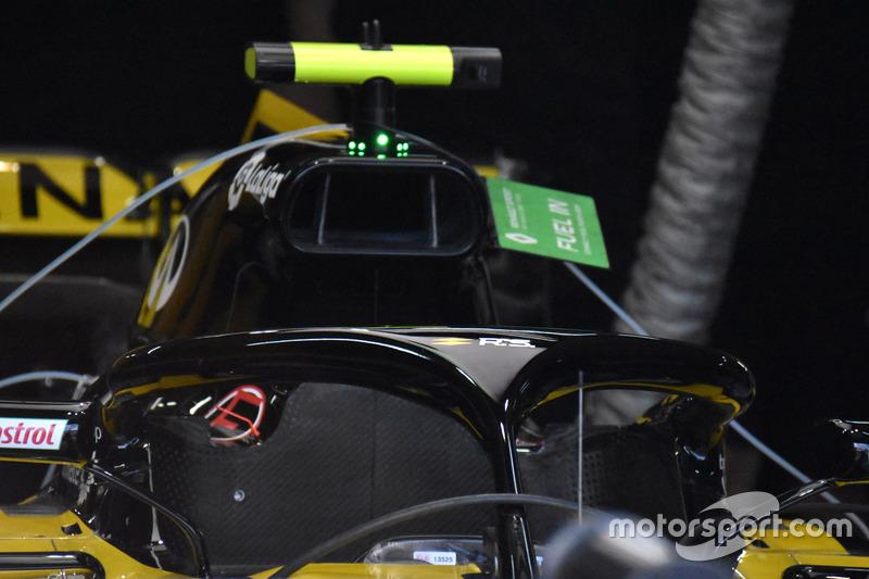 Detail halo Renault Sport F1 Team R.S. 18