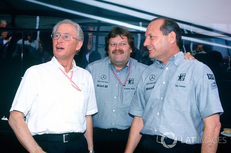 Norbert Haug, Mercedes, Ron Dennis, McLaren