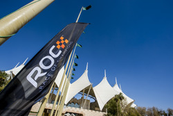 ROC branding outside the stadium
