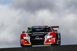 #9 Audi Sport Customer Racing Audi R8 LMS: Marc Cini, Lee Holdsworth, Dean Fiore