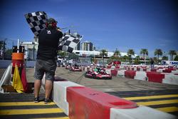 Course de karting de charité