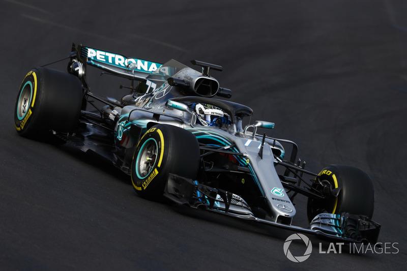 Valtteri Bottas, AMG Mercedes F1 W09