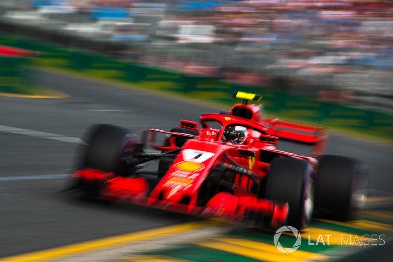 Kimi Raikkonen, Ferrari SF71H
