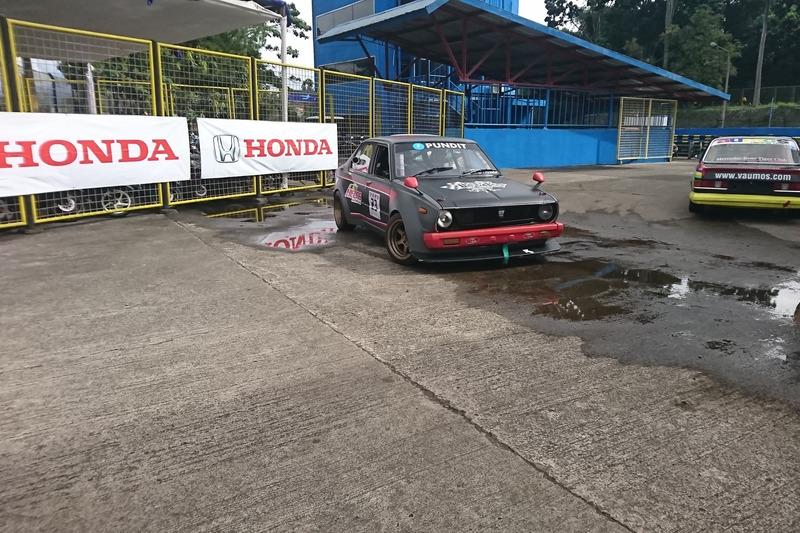 Parc Ferme Kualifikasi Indonesian Retro Race
