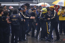 Ganador de carrera Ayrton Senna, Lotus 97T