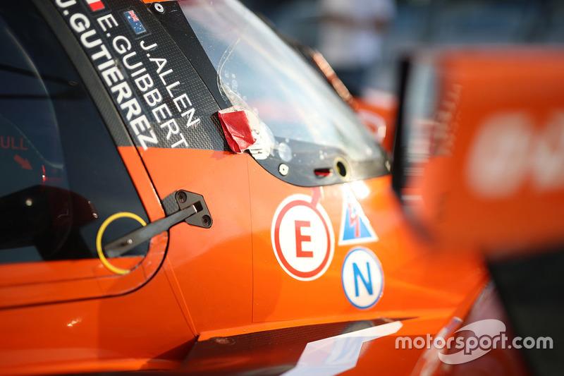 #40 G-Drive Racing Oreca 07 - Gibson: James Allen, Enzo Guibbert, Jose Gutierrez, detail