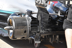 Mercedes AMG F1 W09 arka fren