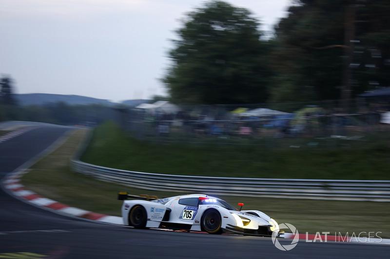 19. #705 Scuderia Cameron Glickenhaus SP-X SCG003c: Thomas Mutsch, Franck Mailleux, Andreas Simonsen, Jeff Westphal