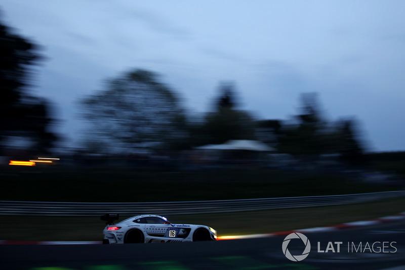 Кеннет Хайер, Себастьян Аш, Эдвард Сандстрём, Тристан Вотье, Landgraf Motorsport, Mercedes-AMG GT3 (№16)