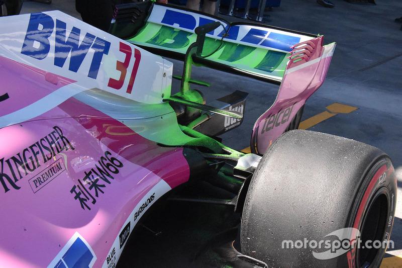 Detalle trasero Force India VJM11