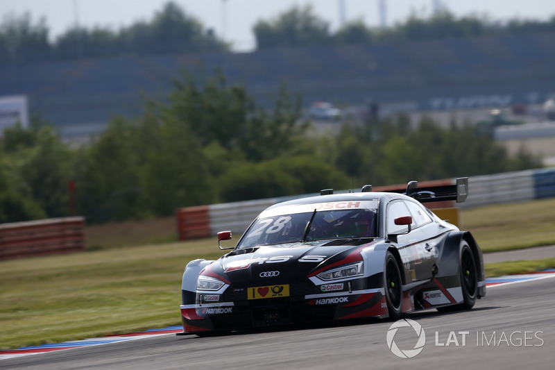 Ausfall: Loic Duval, Audi Sport Team Phoenix, Audi RS 5 DTM