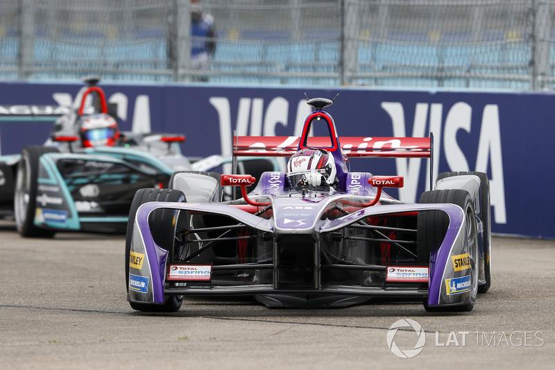 Alex Lynn, DS Virgin Racing, Mitch Evans, Jaguar Racing