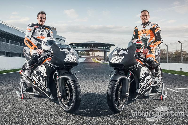 Mika Kallio und Alex Hofmann, KTM