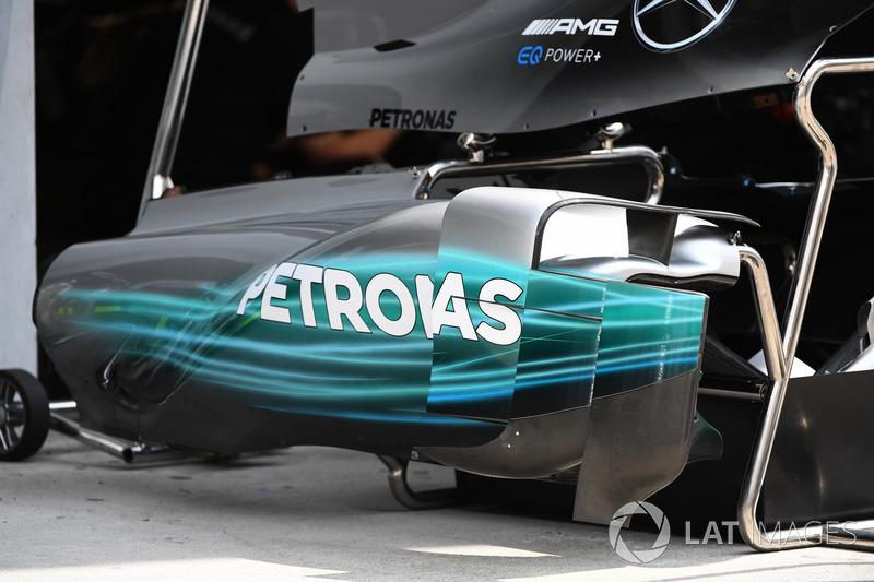 Mercedes-Benz F1 W08: Karosserie