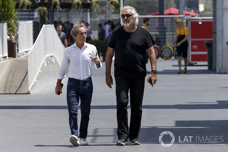 Alain Prost, Renault Sport F1 Team Asesor especial y Flavio Briatore