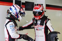 Anthony Davidson, Kazuki Nakajima, Toyota Gazoo Racing