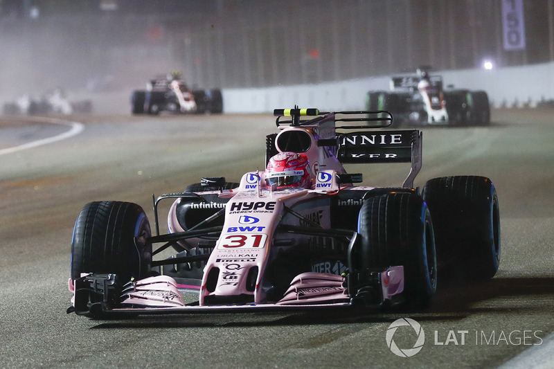 10e : Esteban Ocon (Force India)