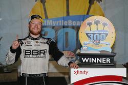 Race winner Tyler Reddick, Chip Ganassi Racing Chevrolet celebrates