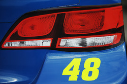 Detail of the car of Jimmie Johnson, Hendrick Motorsports Chevrolet
