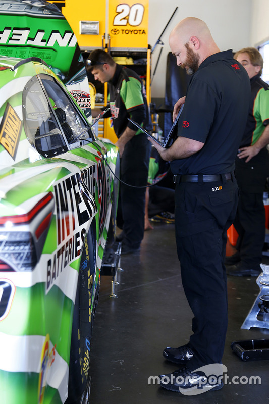 Ingenieur von Joe Gibbs Racing