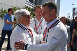 Dmitry Kozak, Deputy Prime Minister of the Russian Federation and Bernie Ecclestone (GBR)