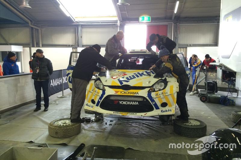 El Ford Fiesta WRC de Alessandro Bettega