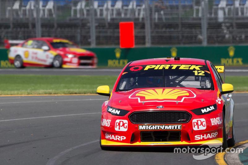 Fabian Coulthard, Scott McLaughlin, Team Penske, Ford