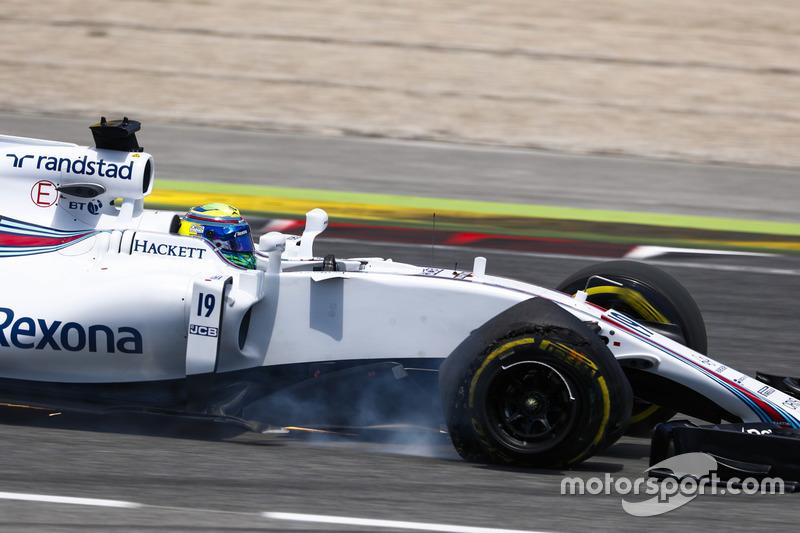 13e : Felipe Massa (Williams)