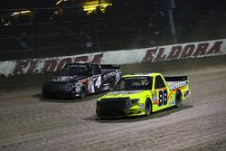 Matt Crafton, ThorSport Racing Toyota, Christopher Bell, Kyle Busch Motorsports Toyota