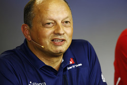 Frederic Vasseur, attends his first Grand Prix as Sauber Team Principal
