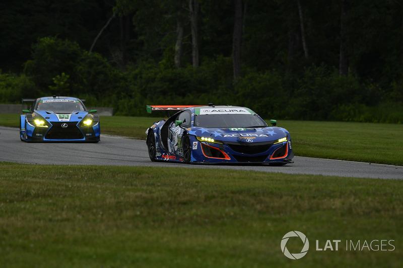 #93 Michael Shank Racing Acura NSX: Andy Lally, Katherine Legge