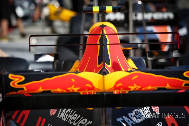 Аеродинамічні елементи Red Bull Racing RB13