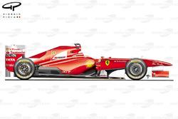 Ferrari F150th Italia - side view