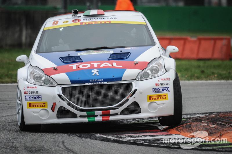 Paolo Andreucci y Anna Andreucci, Peugeot 208 T16