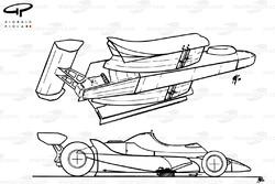Ligier JS11/15 1980 aero overview