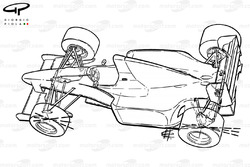 Схема Benetton B191 1991 года