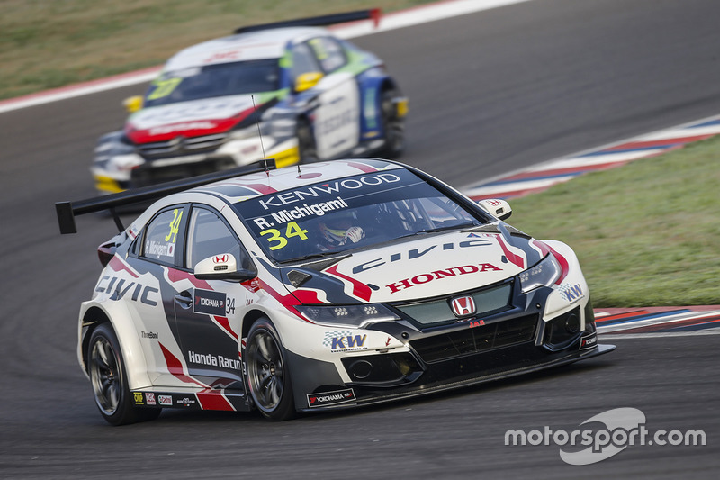 Рьо Мітігамі, Honda Racing Team JAS, Honda Civic WTCC