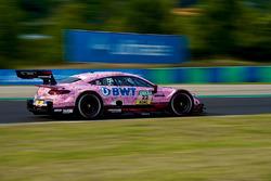 Pink Mercedes on Hungaroring