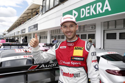 Le poleman René Rast, Audi Sport Team Rosberg, Audi RS 5 DTM