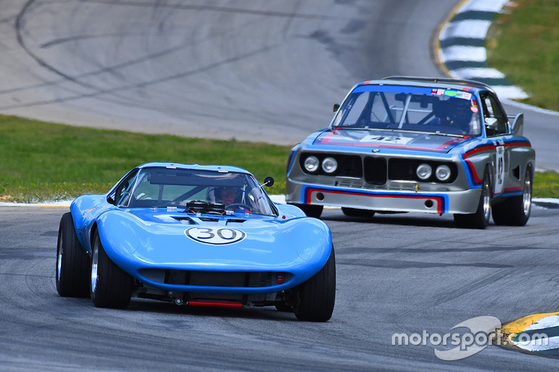 #30 1965 Cheetah Jay Stephenson  #42 1973 BMW CSL Dick York