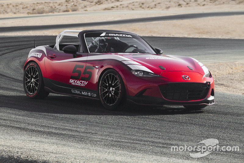 2017 Mazda Global MX-5 Cup Race Car