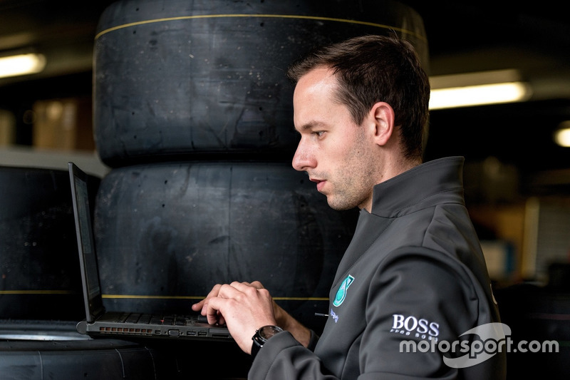 Fabien Chenin, Mercedes-AMG Motorsport DTM, ingénieur pneu