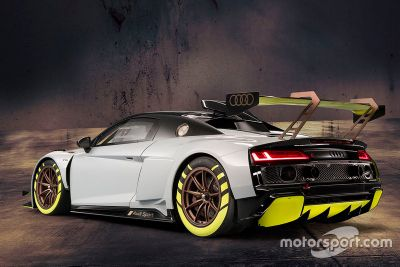 Präsentation: Audi R8 LMS GT2