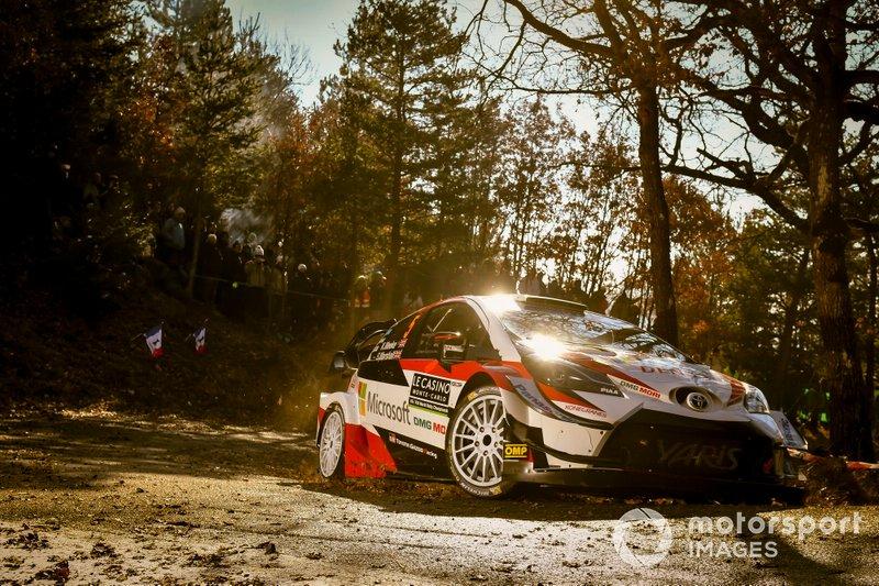 Крис Мик и Себастьен Маршалл, Toyota Gazoo Racing WRT, Toyota Yaris WRC