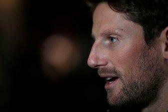 Romain Grosjean, Haas F1 Team parle aux médias