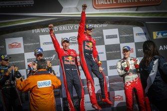 Podium: Winners Sébastien Ogier, Julien Ingrassia, Citroën World Rally Team Citroen C3 WRC