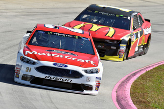 Paul Menard, Wood Brothers Racing, Ford Fusion Motorcraft / Quick Lane Tire & Auto Center,Jamie McMurray, Chip Ganassi Racing, Chevrolet Camaro McDonald's