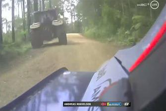 Screen Shot Andreas Mikkelsen, Anders Jæger, Hyundai Motorsport Hyundai i20 Coupe WRC
