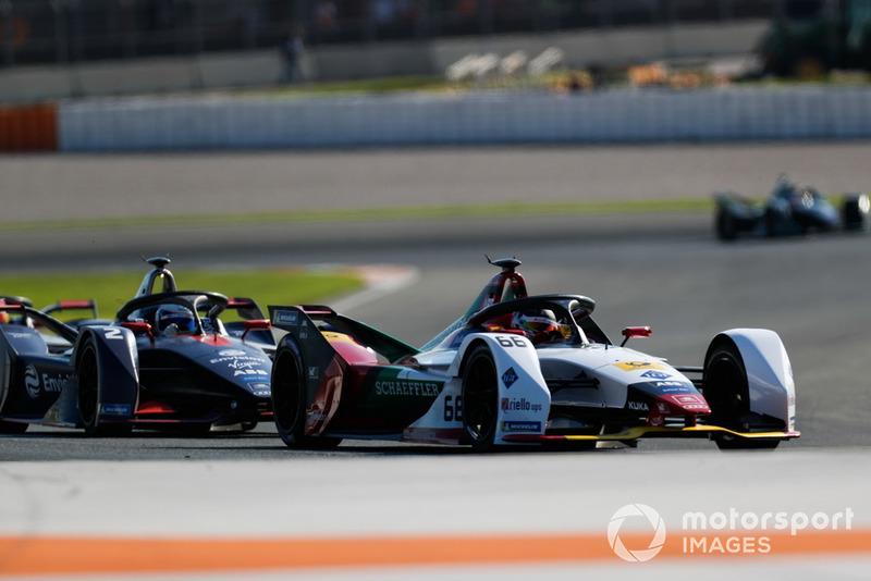 Daniel Abt, Audi Sport ABT Schaeffler, Audi e-tron FE05, Sam Bird, Envision Virgin Racing, Audi e-tron FE05
