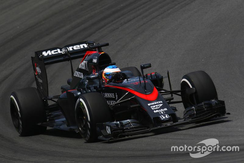 2015: McLaren-Honda MP4-30